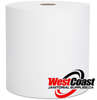 LARGE ROLL PAPER TOWEL HQ SCOTT KC PROFESSIONAL 950 FEET X 6 ROLLS WHITE 1PLY 5700'/CASE 02000
