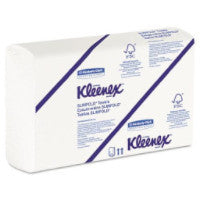 SLIM FOLD SCOTT KC PROFESSIONAL HAND TOWEL WHITE 24 PACKS X 90 SHEETS 04442