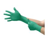 TOUCH N TUFF INDUSTRIAL CHEMICAL RESISTANT NITRILE GLOVES 100/CASE SMALL