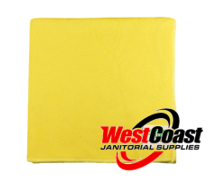 COMMERCIAL YELLOW MICRO FIBER CLOTH EACH