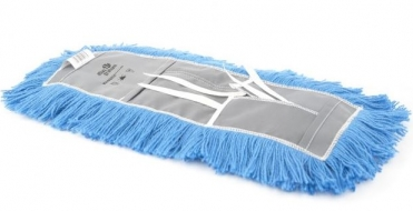 "18"" ATLAS GRAHAM DUST MOP (NYLON YARN/TIE-ON/CUT-END) - INCLUDING HANDLE AND FRAME"