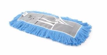 "48"" ATLAS GRAHAM DUST MOP (NYLON YARN/TIE-ON/CUT-END) - INCLUDING HANDLE AND FRAME"