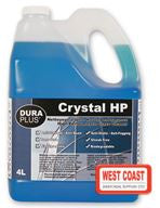 GLASS CLEANER DURA PLUS CRYSTAL HP  4L
