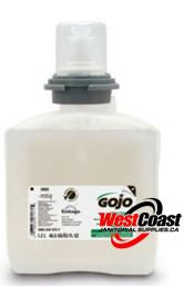 HAND SOAP REFILL GOJO TFX FOAM SOAP GREEN CERTIFIED HAND CLEANER 1250ML 56602