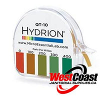 HYDRION pH AND QUATENARY TEST PAPER