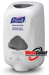 AUTOMATIC HAND SANITIZER DISPENSER PURELL TFX WHITE SENSOR