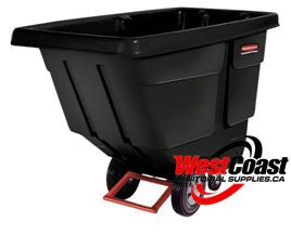 TILT TRUCK RUBBERMAID 850 LB CAPACITY 1 CUBIC YARD 1314