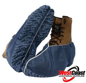 Disposable Shoe Covers Polypropylene Navy Blue 100 Pieces