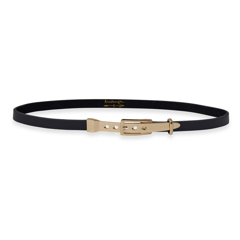 Now:Here Skinny Waist Belt, Natural