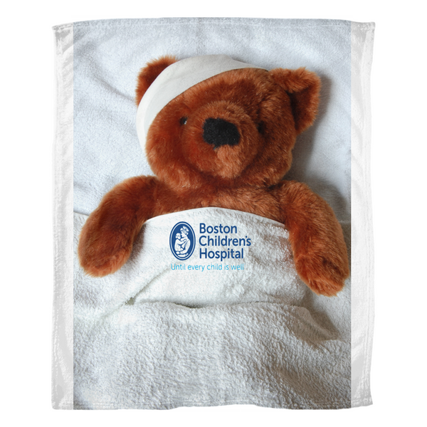 Boston Children's Hospital Fleece Blanket