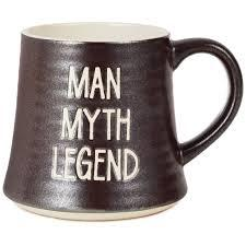 MUG MAN MYTH LEGEND