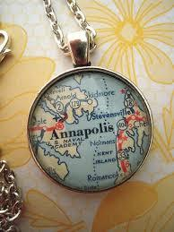 Local Map Necklace