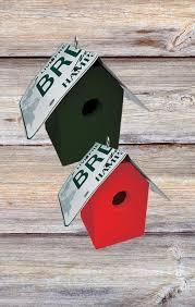 New Hampshire Licence plate Bird House