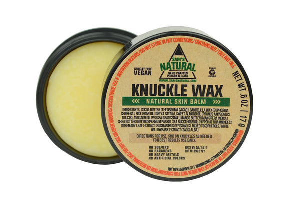 sams knuckle wax
