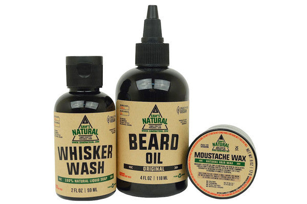 Sams All Natural Beard Care Pack