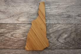 New Hampshire Cutting Board made by NH House of Corrections