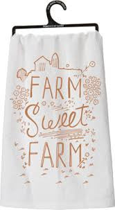 Kitchen Towel Farm Sweet Farm