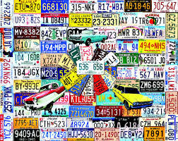 licence plate puzzle 1000