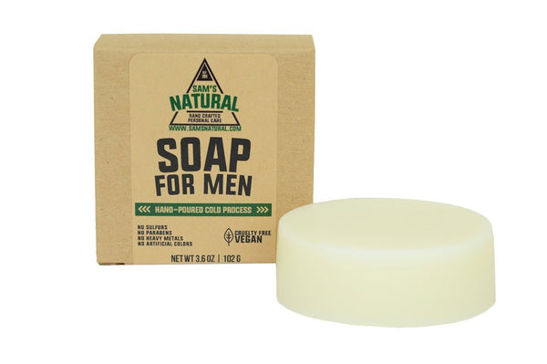 soap for men sams natural