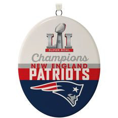 Patriots Superbowl Vl Ornament Hallmark Keepsake
