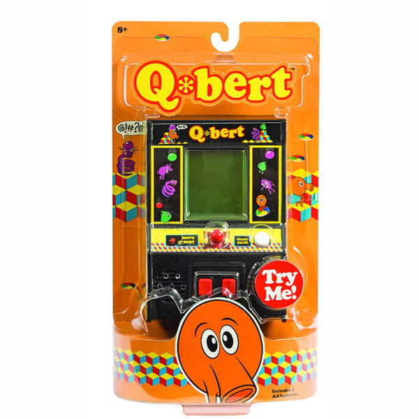 Throwback Video Games Frogger and Q Bert
