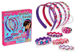 sparkle hairband making kit