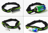 Sports Running Belt with Dual Pocket for Smartphone, MP3 Player, Keys, Documents