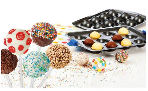 Bake Pop - Cake Pops Baking Pan and Accessories (Video)