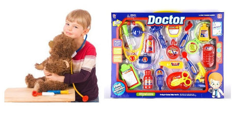 19-Piece Doctor Toy Set