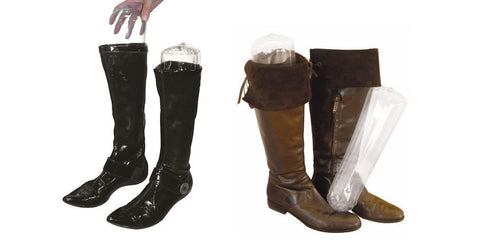 5 Pairs of Inflatable Molds for Boots Form Maintaining
