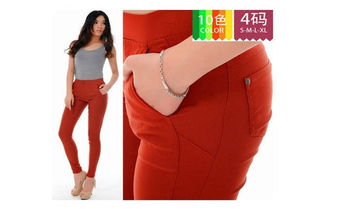Women's Slim Fit Trousers in Choice of Size and Colour
