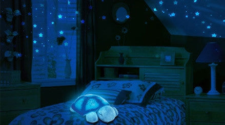 Twilight Turtle - Starry Sky LED Projector for Children's Room