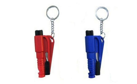 Car Escape Tool Keychain 3in1