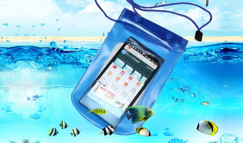 Protective Waterproof Bag for Cell Phone or Camera in Choice of Colour