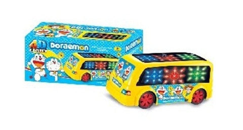 Music Bus Toy with LED Lights and Real Sound Effects