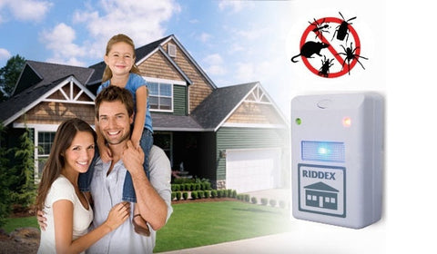 Riddex Pest Repeller Against Mice, Rats, Mosquitoes and Insects (Video)