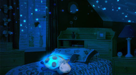 Twilight Ladybug - Starry Sky LED Projector for Children's Room