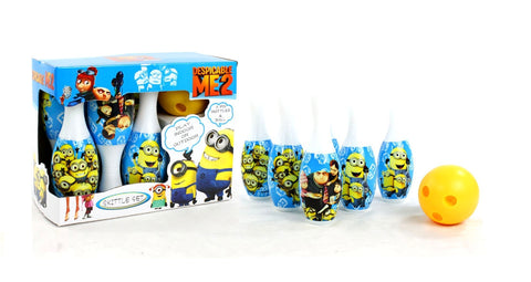 Children's Bowling Set with Design from Cartoon Minions