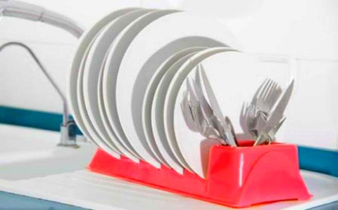 Plastic Dish Rack in Choice of Colour