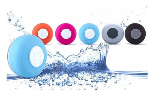 Shower Speaker - Waterproof Bluetooth Speaker in Choice of Colour