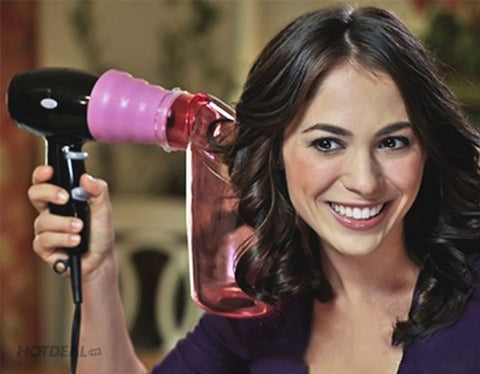 Air Curler - Hair Dryer Attachement Accessory for Perfect Curls (Video)