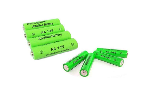 4 AA and 4 AAA Rechargeable Batteries