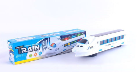 Speed-train Toy with LED Lights and Real Sound Effects