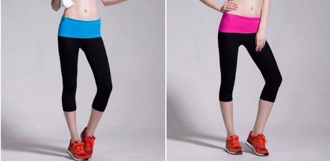 Women's Slim-Fit Leggings for Yoga and Fitness in Choice of Colour
