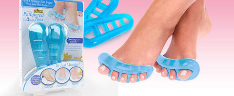 Pampered Toes Spa Therapy - Revitalize Tired Feet with Toes Separator