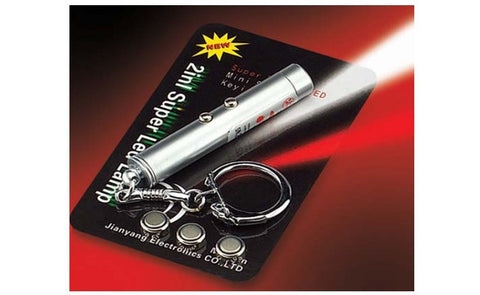 Laser Pointer 2in1 - LED Flashlight and Red Laser Pointer
