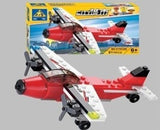 Toy Bricks for Making Airplane or Speedboat (81 Pieces)