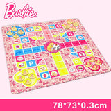 2 in 1 Barbie Mat and Social Game