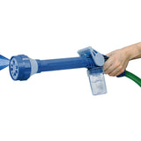 Water Cannon - 8-Nozzle Multi-Function Spray Gun with Built-in Soap Dispenser (Video)