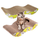 Flat or Wavy Scraper for Cats